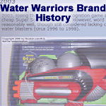 History of the Water Warriors Brand